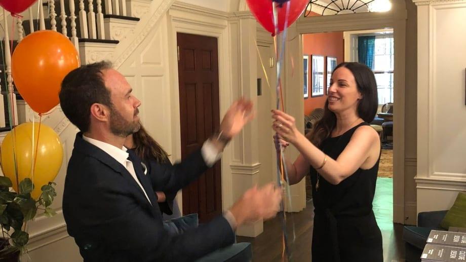 Balloons in New York - Simon Sagmeister
