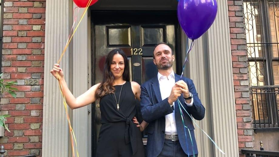 Balloon New York front porch